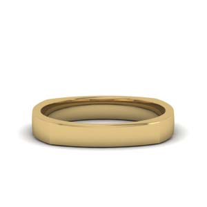 18K Yellow Gold Band With Names