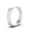6 mm square matte finish mens ring in FDSQR7BANGLE2 6MM NL WG.jpg