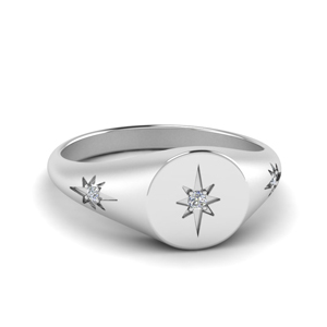 Platinum Signet Rings