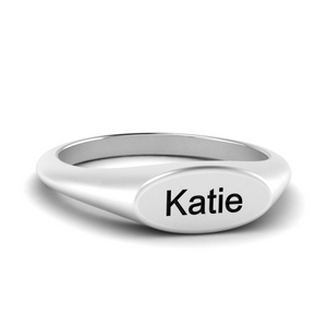 Name Signet Ring