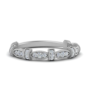 Vintage Round Diamond Band