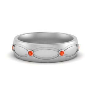 Infinity Womens Wedding Band