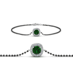 emerald-bracelet-mangalsutra-with-black-beads-in-MGBRC8648GEMGR-NL-WG