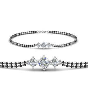 Mangalsutra 3 Diamonds Bracelet