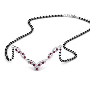 twisted-diamond-necklace-mangalsutra-with-pink-sapphire-in-MGS60964GSADRPI-NL-WG