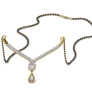 Mangalsutra Diamond Necklace