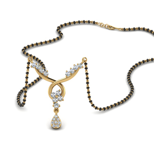 Infinity Design Diamond Mangalsutra