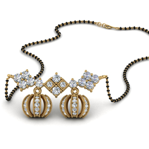 2 Wati Diamond Mangalsutra For Her