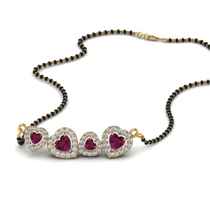 pink-sapphire-heart-halo-diamond-mangalsutra-in-MGS8880GSADRPI-NL-YG