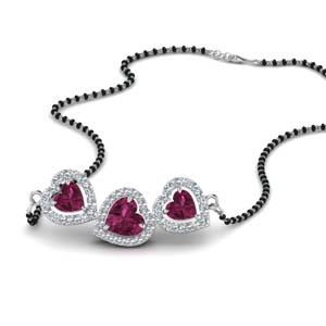 pink-sapphire-heart-3-stone-mangalsutra-necklace-in-MGS8900GSADRPIANGLE1-NL-WG