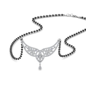 Diamond Wings Design Mangalsutra