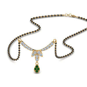 floral-drop-diamond-mangalsutra-necklace-with-emerald-in-MGS8960GEMGR-NL-YG