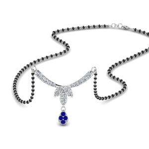 floral-drop-diamond-mangalsutra-necklace-with-sapphire-in-MGS8960GSABL-NL-WG