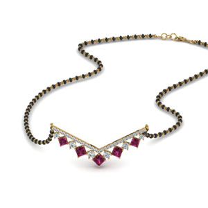 v-shaped-bar-diamond-mangalsutra-with-pink-sapphire-in-MGS8961GSADRPI-NL-YG
