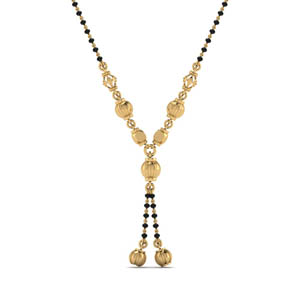 Small Gold Mangalsutra Necklace