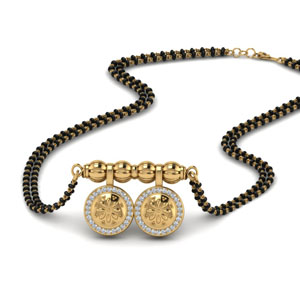 Wati Mangalsutra With Diamond