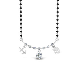 Sonam Diamond Mangalsutra Design