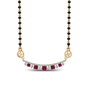 zodiac-sign-pink-sapphire-mangalsutra-in-MGS9016GSADRPIANGLE1-NL-YG