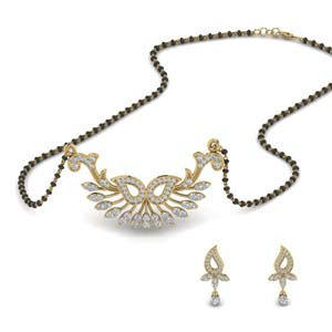 Hot Selling Mangalsutra Earring Set