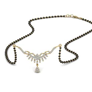 Womens Diamond Mangalsutra For Her