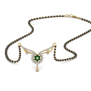 beautiful-diamond-bead-mangalsutra-with-emerald-in-MGS9105GEMGR-NL-YG