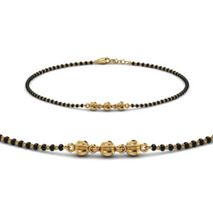 Yellow Gold Bracelet Mangalsutra