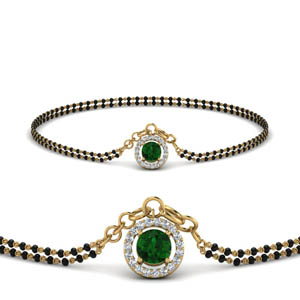 emerald-halo-drop-mangalsutra-bracelet-in-MGSBRC8999GEMGRANGLE1-NL-YG