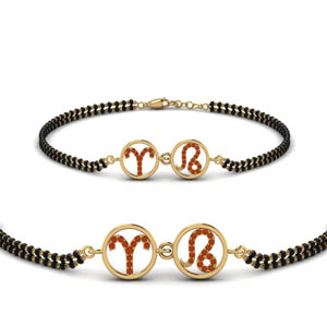 Sonam Bracelet Mangalsutra With Beads