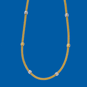 Beautiful Gold Beads Chain